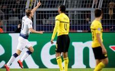 Lloris y Kane fulminan al heroico Dortmund