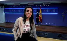 Montero afirma que Podemos aspira a entrar en el Gobierno con el PSOE tras las elecciones