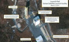 Corea del Norte reconstruye un centro de lanzamiento de satélites y misiles