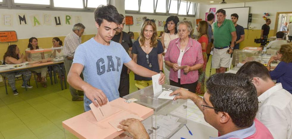 El censo electoral de la región pierde 10.000 votantes en menos de cuatro años