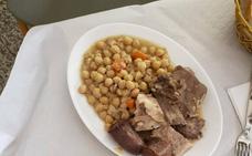 Un cocido completo en Navezuelas