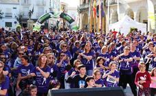 Unas 3.500 mujeres corren por la igualdad en Villanueva