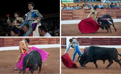 La torería de Ginés y el valor de Roca Rey cierran una triunfal feria de Olivenza