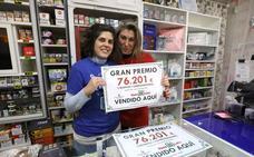 Un boleto de la Bonoloto sellado en Mérida deja 76.000 euros