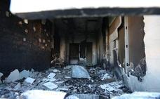 Seis vecinos y cinco policías afectados por inhalación de humo en un incendio en Mérida
