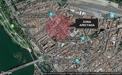 Detenido en Mérida un hombre de 48 años por robar en el interior de siete coches