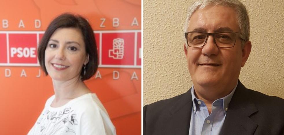 La edil pacense Maribel García y Mariano Sánchez Escobar, de UGT, números 2 y 3 al Congreso por Badajoz