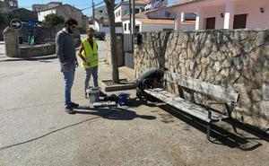 Obras lleva a cabo mejoras en el barrio trujillano de Huertas de la Magdalena