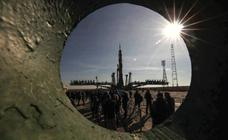 Preparativos para el lanzamiento del Soyuz MS-12