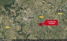 Fallece un hombre de 52 años en una salida de vía cerca de Ahigal