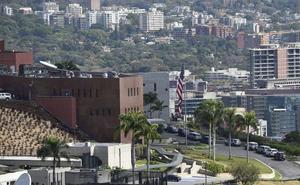 La Embajada de EE UU en Caracas se queda sin personal