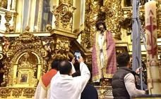 Más de un millar de fieles se darán cita el sábado ante el Cristo de Serradilla