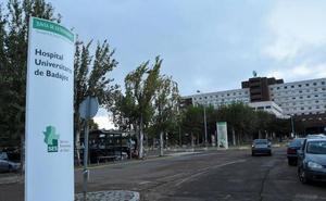 Una gotera causa inquietud en el Hospital Universitario de Badajoz