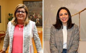 Victoria Domínguez y María José Calderón, candidatas de Cs Extremadura al Congreso