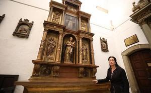 Descubren que el Retablo de la Candelaria de Santa María es el más antiguo de Mérida