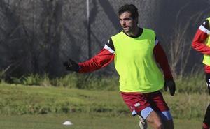 Fran Cruz se perfila como titular ante el Albacete