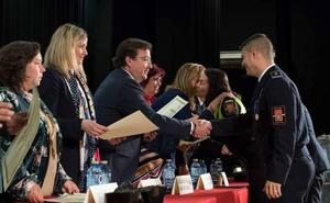 Extremadura reconoce «el trabajo callado y necesario» de los policías locales
