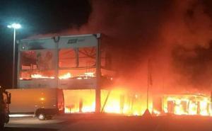 Un incendio en el Circuito de Jerez altera el Mundial de MotoE