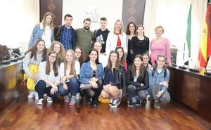 Los alumnos eslovenos visitan Villanueva de la Serena