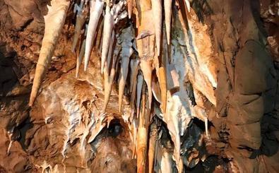 Aparecen dos grutas durante la obra de la Ronda Sureste de Cáceres