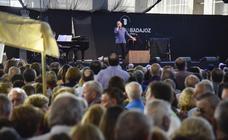 Concierto de Bertín Osborne en la Feria de los Mayores de Badajoz