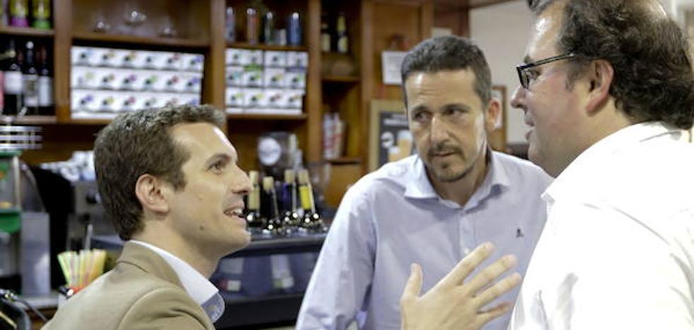 El PP designa a Víctor Píriz y Alberto Casero cabezas de lista al Congreso