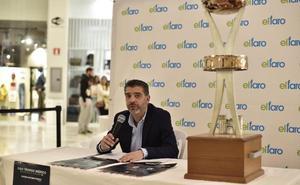 Puesta de largo del Trofeo Ibérico en el Centro Comercial El Faro de Badajoz
