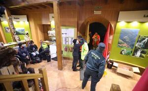 Rescatan a los 25 excursionistas gallegos perdidos en la Reserva del Saja en Cantabria