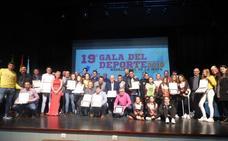 La Gala del Deporte de 2018 de Navalmoral concede 26 premios y menciones especiales