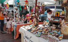 La Ruta del Romanticismo tiene otra vez mercado artesano en Almendralejo