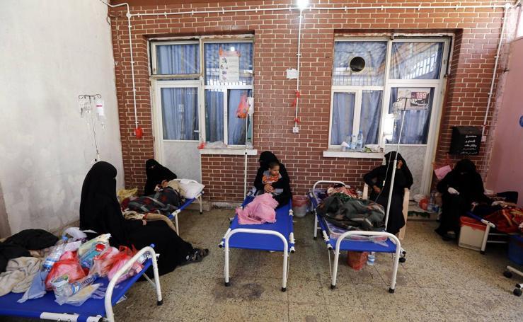 Nueva ola de cólera en Yemen