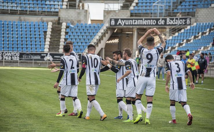 Victoria del CD Badajoz ante el Granada B