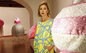 Exposición de moda de Ágatha Ruiz de la Prada en Cáceres