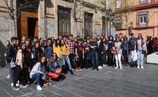 Los juegos deportivos del instituto pacense de Rodríguez Moñino atraen a jóvenes de tres países