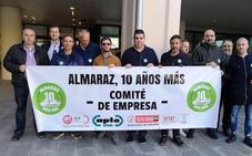 El comité de empresa de Almaraz se encerrará en la planta