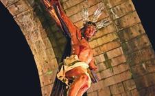 El Cristo de los Remedios ilustra la Semana Santa de Mérida, de Interés Turístico Internacional