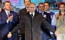 Putin refuerza el dispositivo militar en Crimea con más misiles y bombarderos estratégicos