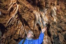 Visita a las cuevas en las obras de la Ronda Sureste de Cáceres