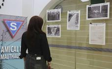Exposición sobre los campos nazis