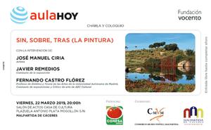 Aula HOY programa una charla-coloquio sobre arte contemporáneo en Malpartida de Cáceres
