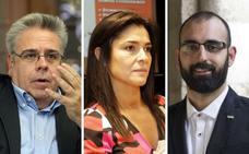Ignacio Sánchez Amor, Leonor Martínez Pereda y José Ángel Calle, en la lista del PSOE para Europa