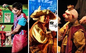 Mérida acoge este fin de semana tres obras de títeres y teatro dentro del I Festival de Teatro para la Infancia