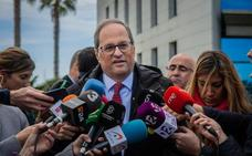El Defensor del Pueblo catalán insta a Torra a retirar los lazos de la Generalitat