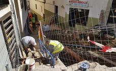 Retoman la obra de Alzapiernas, que volverá a pararse en Semana Santa para colocar una pasarela