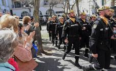 Los militares de la UME reciben el agradecimiento de Badajoz