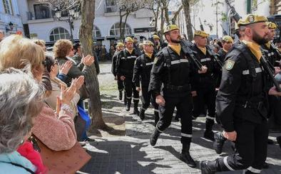 Badajoz aplaude a la UME