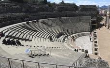 La sustitución de los graderíos del Teatro Romano no afectará a las visitas