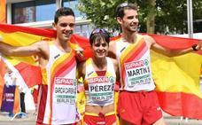 El extremeño Álvaro Martín y María Pérez lideran a España en la Copa de Europa en Lituania