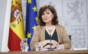 La Junta Electoral apercibe a Carmen Calvo por hacer uso partidista de la cuenta en Twitter de su ministerio