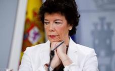 El Gobierno defiende su decisión de no intervenir en la retirada de lazos amarillos